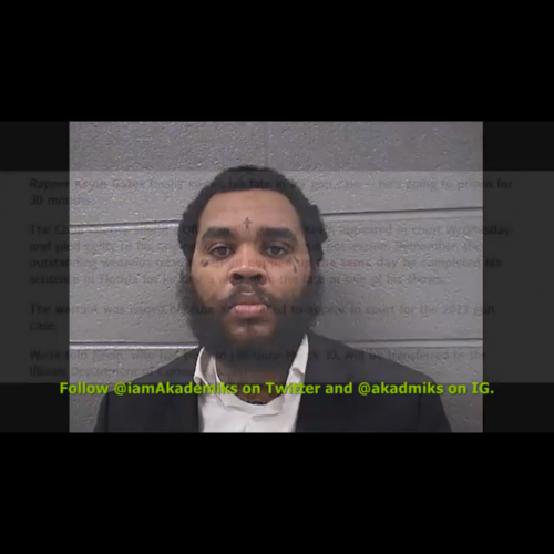 Update: Kevin Gates facing 30 months in prison for previous gun charge