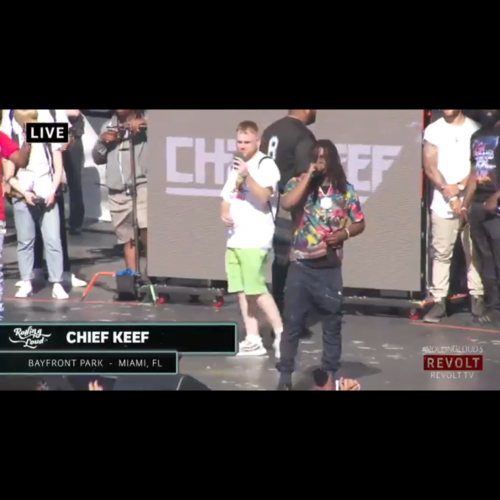 """Chief Keef """" Rolling Loud 2017 performance""""the"""