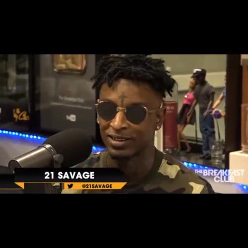 "21 Savage ""Breakfast Club Interview"""
