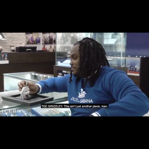 Tee Glizzley Spends 400k on new chain and pendant with icebox