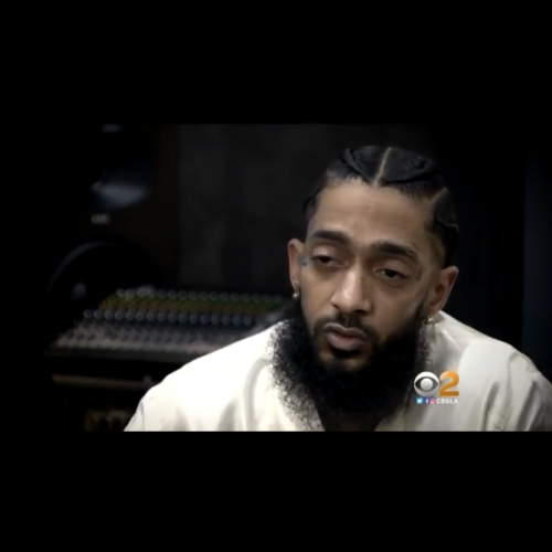Pat Harvey of CBS LA goes one on one with Nipsey Hussle