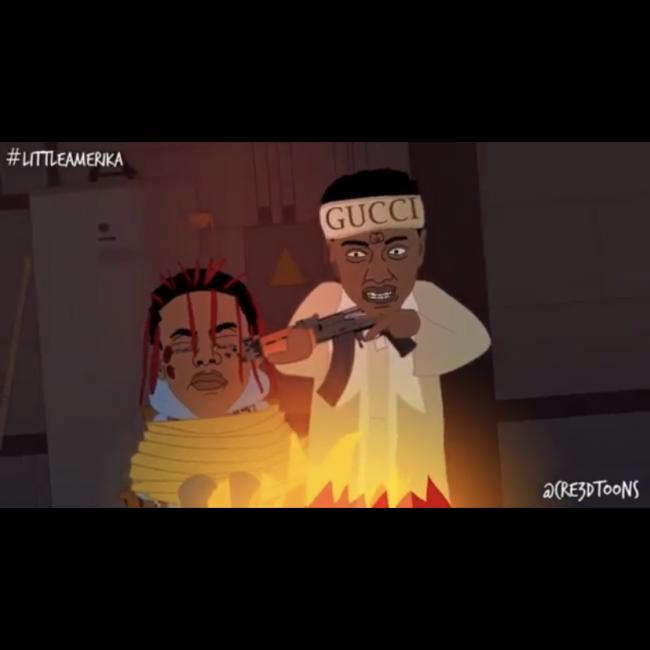 "Soulja Boy Cartoon: ""Drako vs Dexter"""