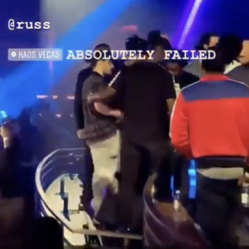 Russ gets walked out of a nightclub in Miami after disrespecting their sound system