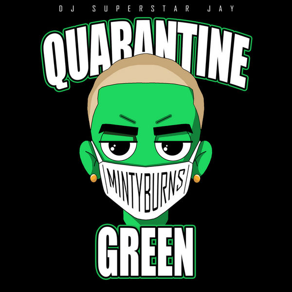 Minty Burns Quarantine Green