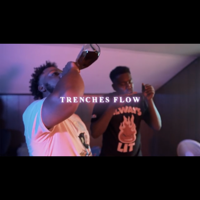 "Young Savo X Booman ""Trenches Flow"""