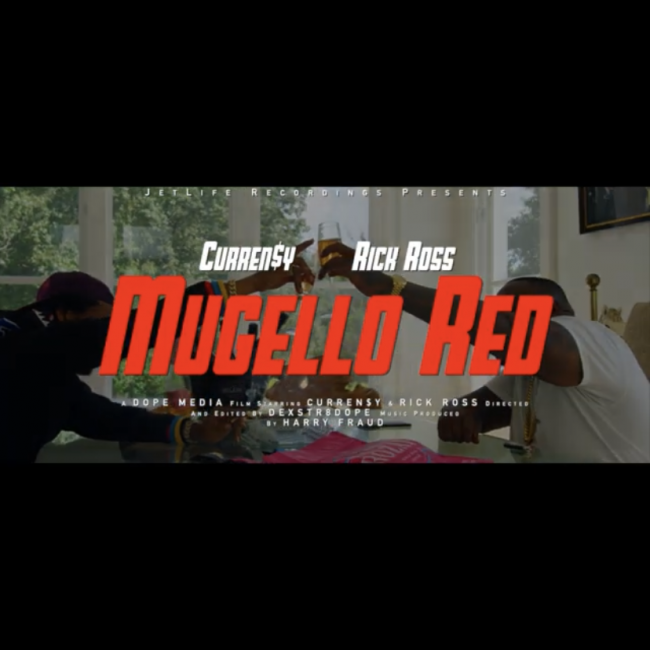 "Curren$y ft. Rick Ross ""Mugello Red"""