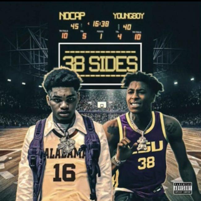 "NoCap ft. NBA Youngboy ""38 Sides"""