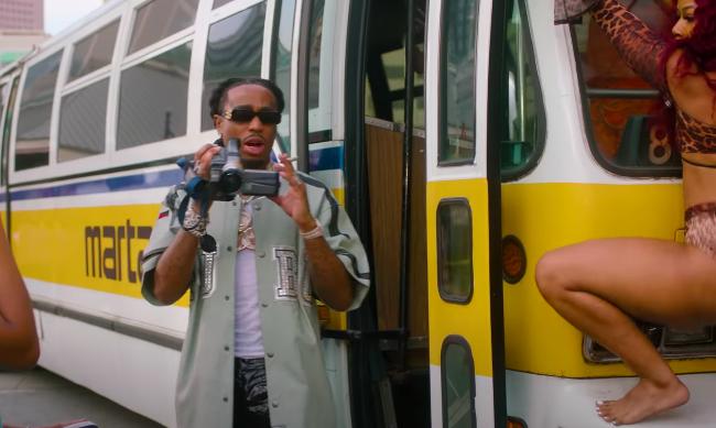 "Quavo ft. Yung Miami ""Strub The Ground""[Video]"